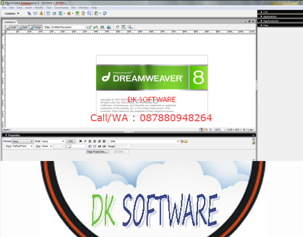 CD-DVD-SOFTWARE-DREAMWEAVER-8-3